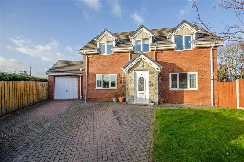 3 Bedrooms Detached House for sale in Llys Y Wennol, Henllan, Denbigh