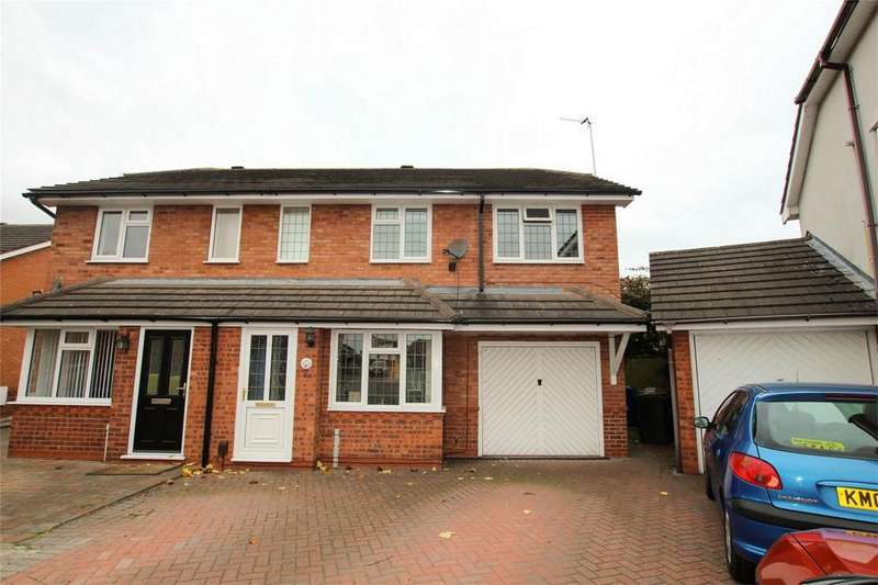 3 Bedrooms Semi Detached House for sale in Flinn Close, Lichfield, Staffordshire