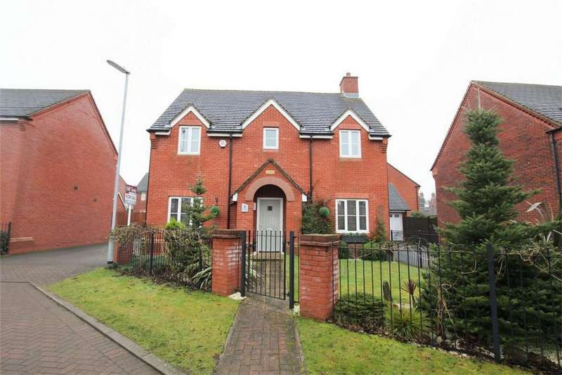 4 Bedrooms Detached House for sale in Alamein Way, Lichfield, Staffordshire