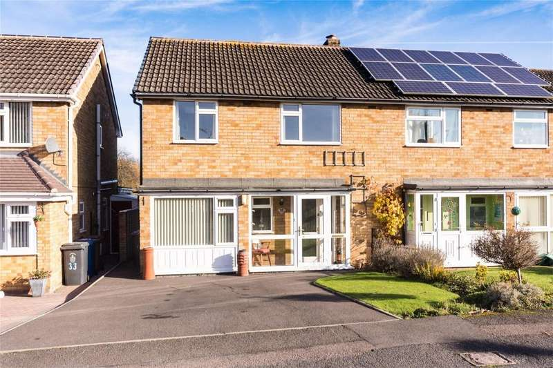 3 Bedrooms Semi Detached House for sale in Furnivall Crescent, Lichfield, Staffordshire