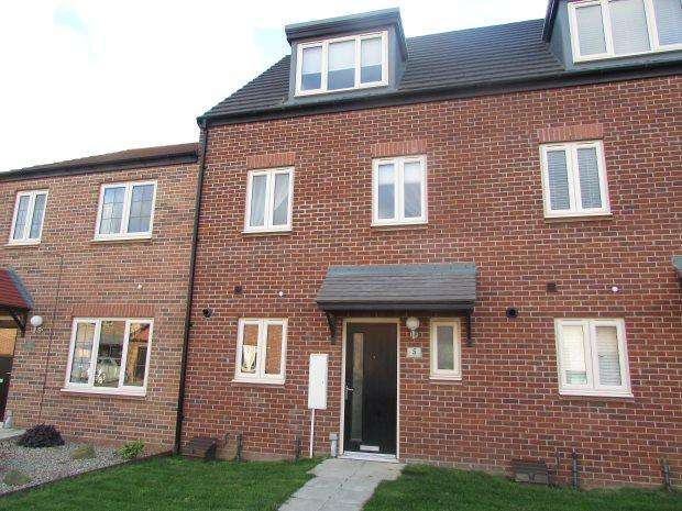 3 Bedrooms Terraced House for sale in JASMINE CLOSE, BISHOP CUTHBERT, HARTLEPOOL
