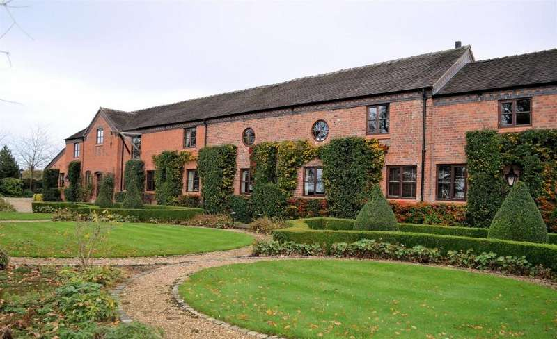 4 Bedrooms Barn Conversion Character Property for sale in White Hall Lane Lane , Warmingham, Sandbach