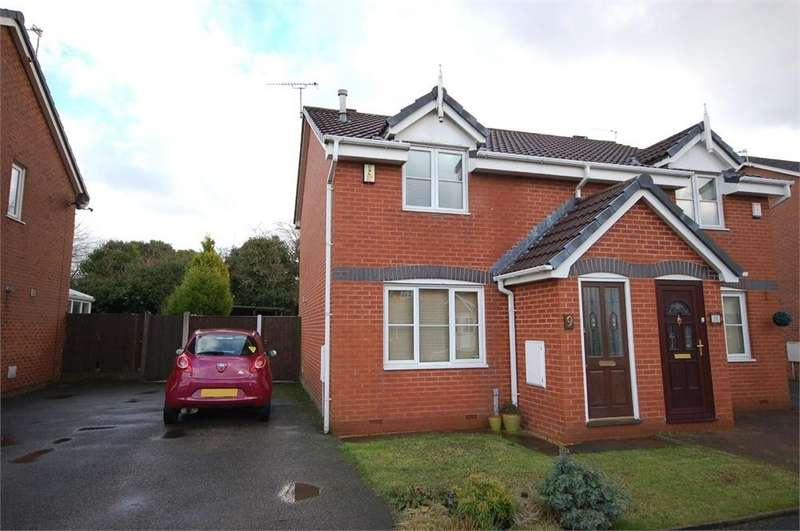 2 Bedrooms Semi Detached House for sale in Wood Vale, Sutton Heath, St Helens, Merseyside