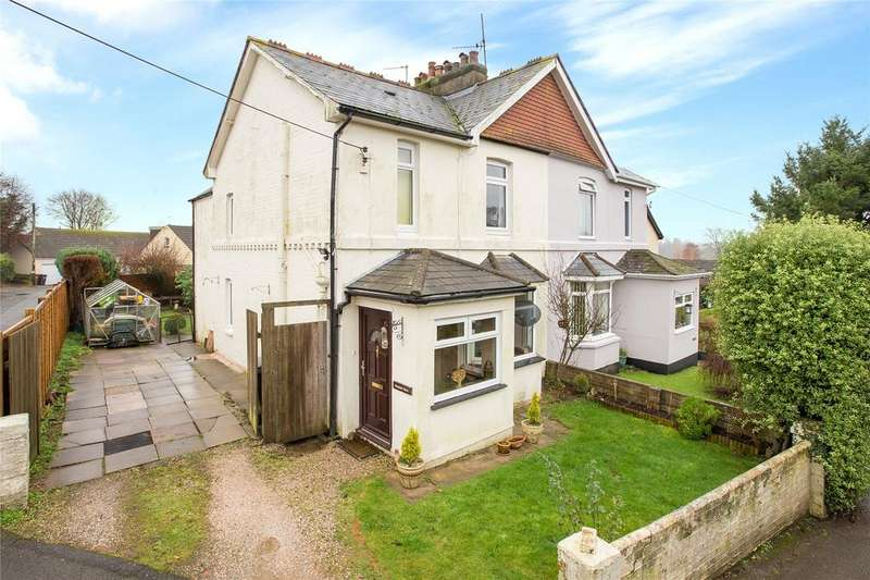 3 Bedrooms Semi Detached House for sale in Vicarage Road, Stoke Gabriel, Totnes, Devon, TQ9