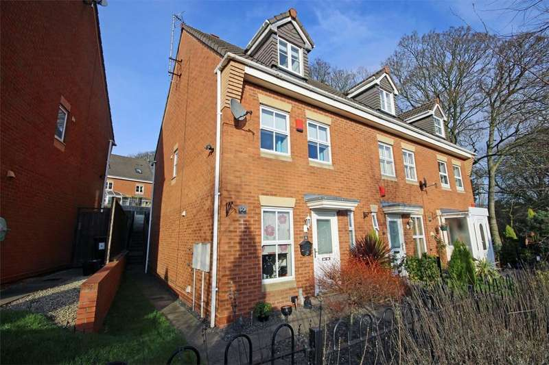 3 Bedrooms End Of Terrace House for sale in 6 Carpenter Glade, HALESOWEN, West Midlands