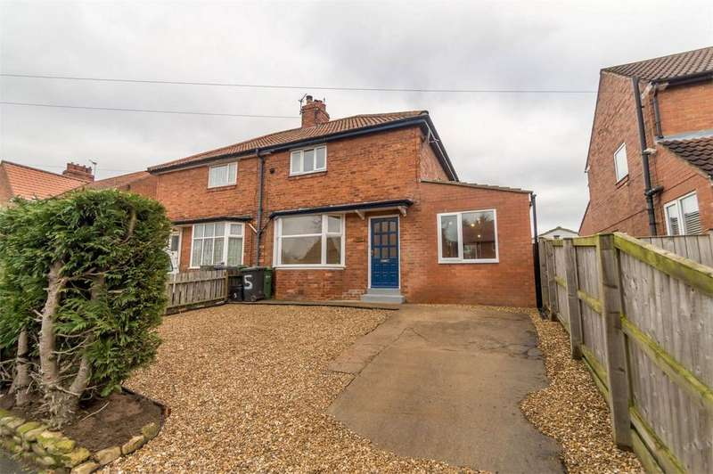 3 Bedrooms Semi Detached House for sale in Granger Avenue, Acomb, York