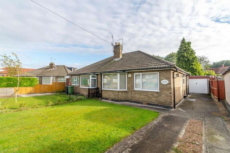 2 Bedrooms Semi Detached Bungalow for sale in Danebury Crescent, Acomb, York