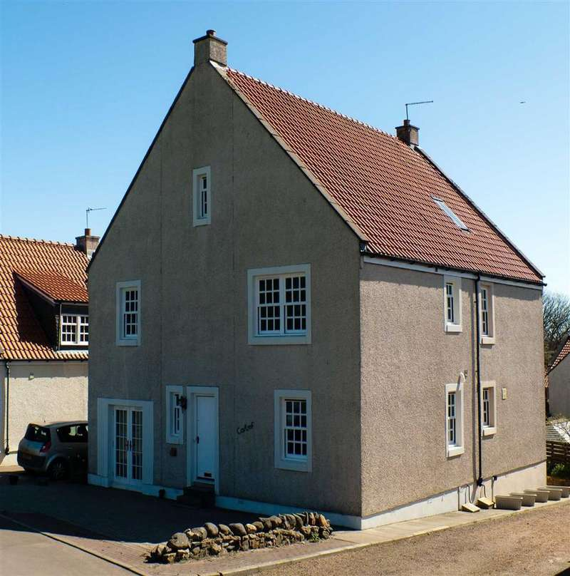 3 Bedrooms Semi Detached House for sale in Greenbrig Road, Kilconquhar, Fife
