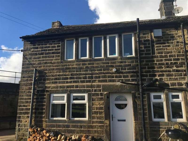 2 Bedrooms Cottage House for sale in Sunside Cottages, Birdsedge, Huddersfield, HD8 8XW