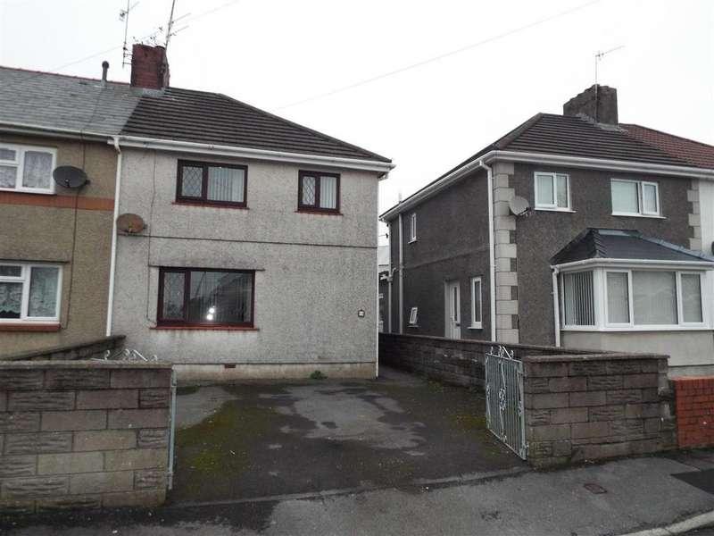 3 Bedrooms End Of Terrace House for sale in Heol Westfa, Llanelli