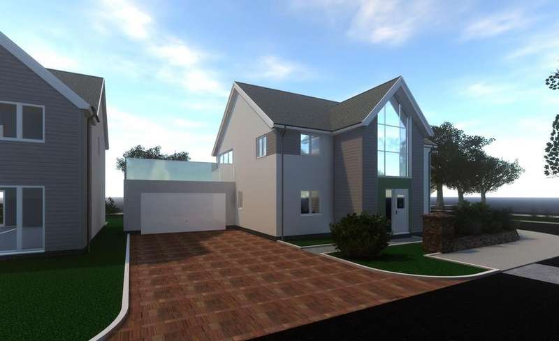 5 Bedrooms Detached House for sale in The Lawns, Mount Sandford Green, Barnstaple
