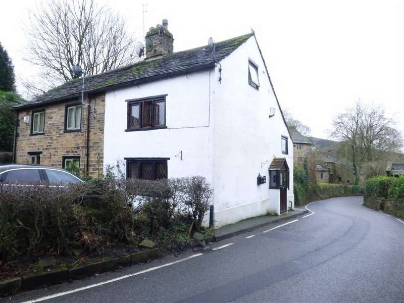 3 Bedrooms Cottage House for sale in Simmondley Village, Glossop, Derbyshire, SK13