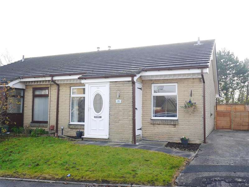 2 Bedrooms Semi Detached Bungalow for sale in Newcastle Close, Drighlington, Nr Leeds