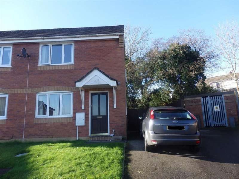 2 Bedrooms Semi Detached House for sale in Brynhyfryd, Llanelli