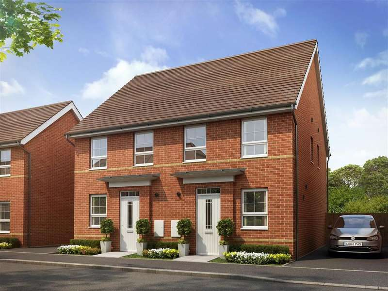 2 Bedrooms House for sale in Plot 256, Saxon Fields, Cullompton