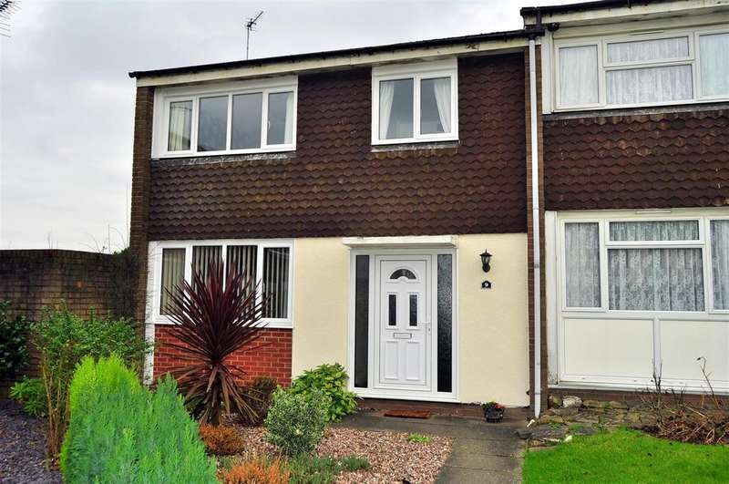 3 Bedrooms End Of Terrace House for sale in Chillington Walk, Rowley Regis