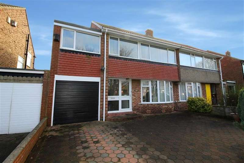 4 Bedrooms Semi Detached House for sale in Hampton Road, North Shields