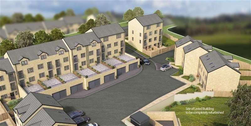 3 Bedrooms Town House for sale in Albion Gardens, Meltham, Holmfirth, HD9