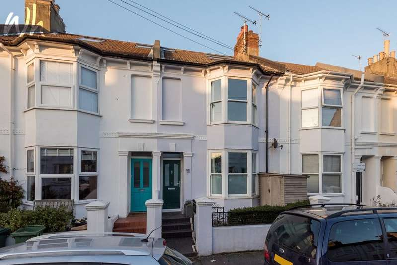 3 Bedrooms Terraced House for sale in Coleridge Street, Hove BN3