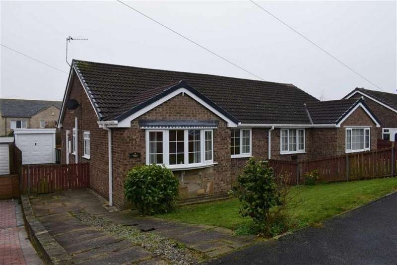 2 Bedrooms Semi Detached Bungalow for sale in Orchard Drive, South Hiendley, Barnsley, S72