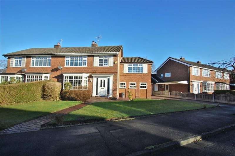 4 Bedrooms Semi Detached House for sale in Patch Lane, Bramhall, Stockport