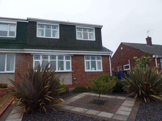 3 Bedrooms Semi Detached Bungalow for sale in EAST DENE WAY, PETERLEE, PETERLEE