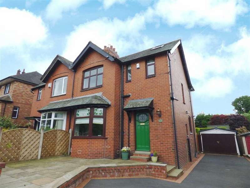 4 Bedrooms Semi Detached House for sale in Shaw Road, Thornham, Rochdale, Lancashire, OL16