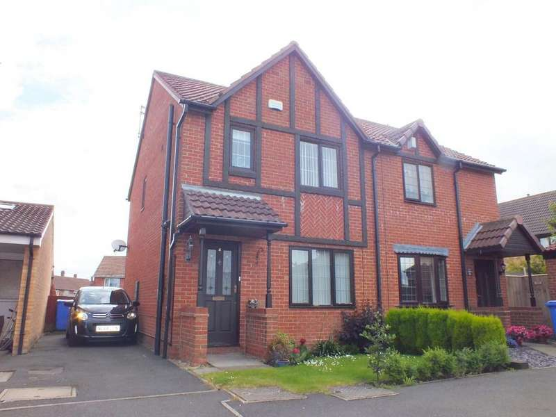 3 Bedrooms Semi Detached House for sale in Amber Court, Blyth