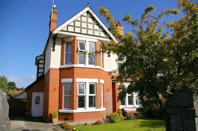 5 Bedrooms Semi Detached House for sale in Llannerch Road East, Rhos On Sea, Colwyn Bay