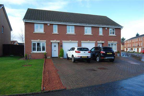 4 Bedrooms Semi Detached House for sale in Auchenkist Place, Kilwinning