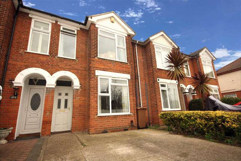 3 Bedrooms Terraced House for sale in Felixstowe Road, Ipswich