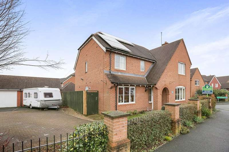 5 Bedrooms Detached House for sale in Old Farm Drive, Codsall, Wolverhampton, WV8