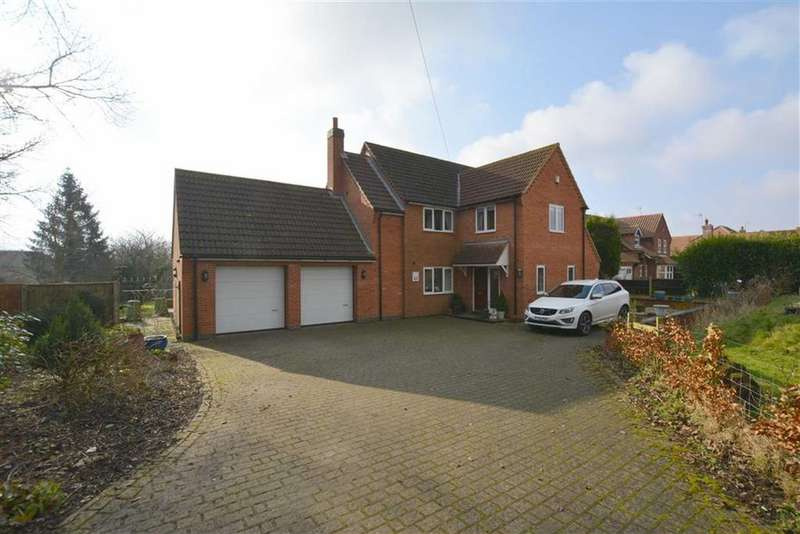 5 Bedrooms Detached House for sale in Kirklington Road, Hockerton, Nottinghamshire, NG25