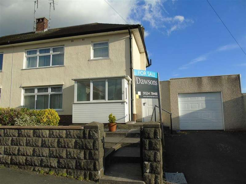 3 Bedrooms Semi Detached House for sale in Harries Avenue, Llanelli