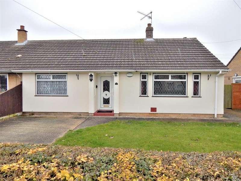 2 Bedrooms Semi Detached Bungalow for sale in Alma Avenue, Terrington St. Clement, King's Lynn