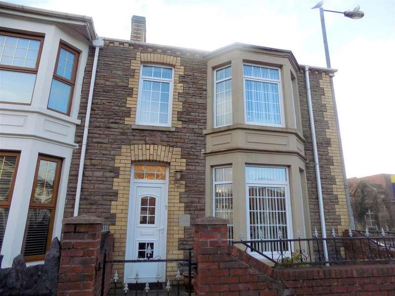 2 Bedrooms End Of Terrace House for sale in George Street, Port Talbot