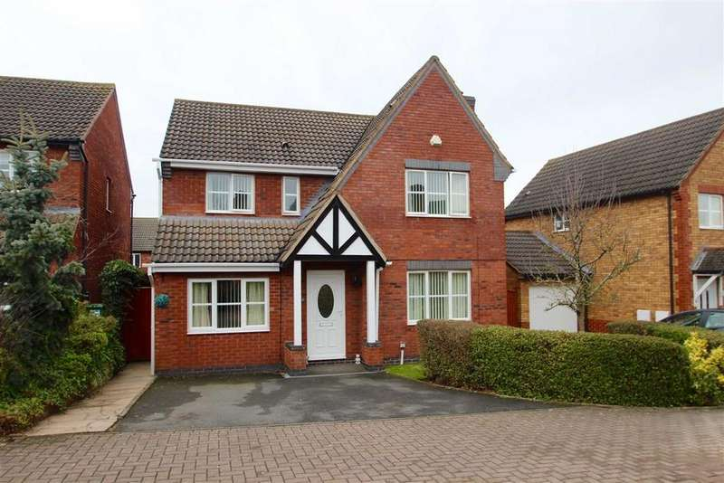 4 Bedrooms Detached House for sale in Farringdon Avenue, Belmont, Hereford