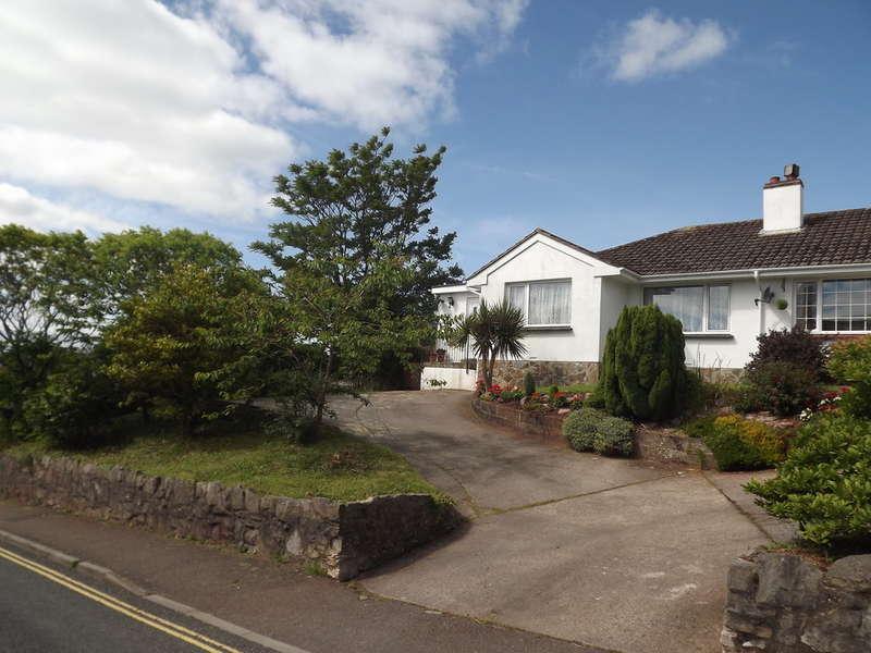 3 Bedrooms Semi Detached Bungalow for sale in Vicarage Road, Marldon, Paignton