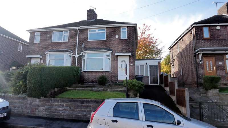 2 Bedrooms Semi Detached House for sale in Leamington Gardens, May Bank, Newcastle, Staffs