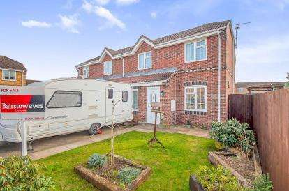 3 Bedrooms Semi Detached House for sale in Whittle Close, Boston, Lincolnshire, England