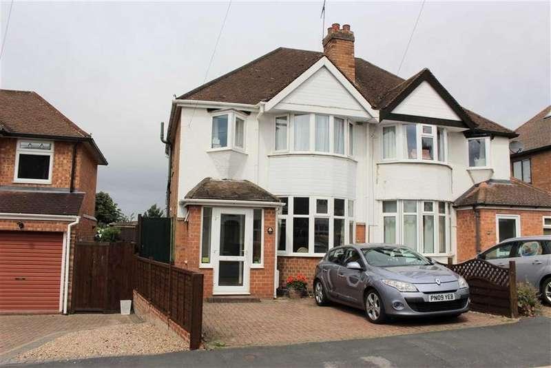 3 Bedrooms Semi Detached House for sale in Kinross Road, Lillington, Leamington Spa, CV32