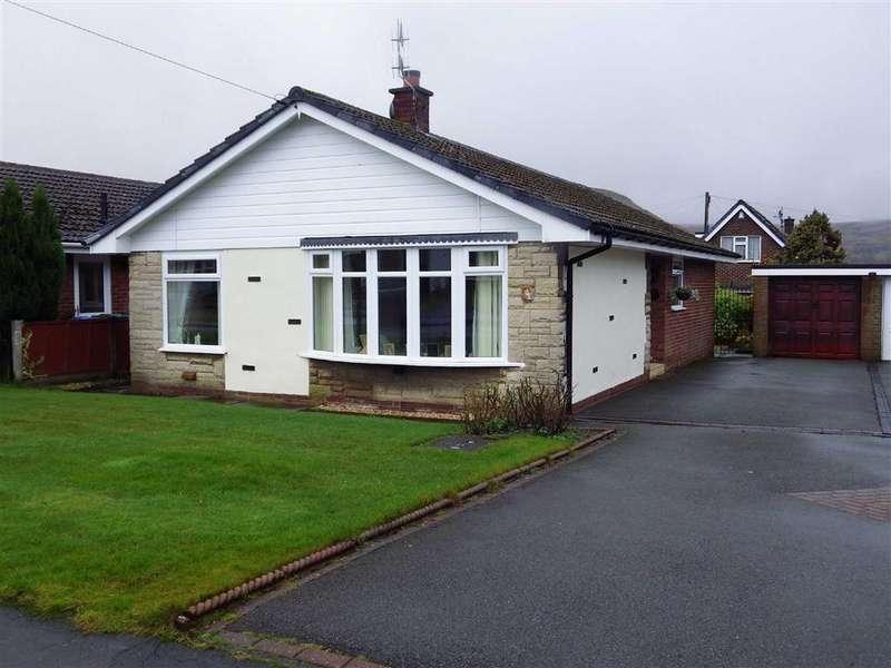 3 Bedrooms Detached Bungalow for sale in Milton Close, Helmshore, Rossendale, Lancashire, BB4