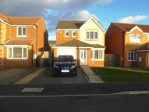 3 Bedrooms Detached House for sale in REDWOOD, SEAHAM, SEAHAM DISTRICT