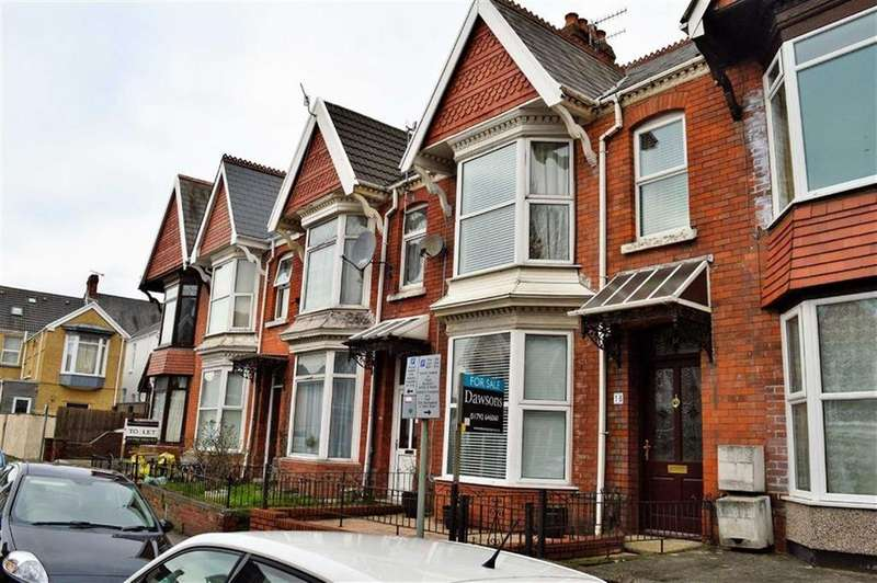 5 Bedrooms Terraced House for sale in Beechwood Road, Swansea, SA2