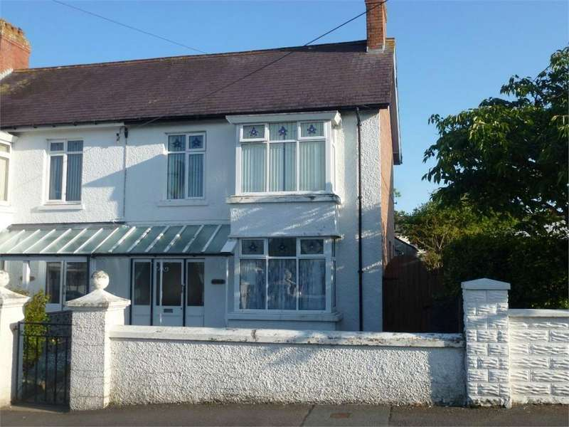 4 Bedrooms Semi Detached House for sale in Glasdir, Napier Gardens, Cardigan, Ceredigion