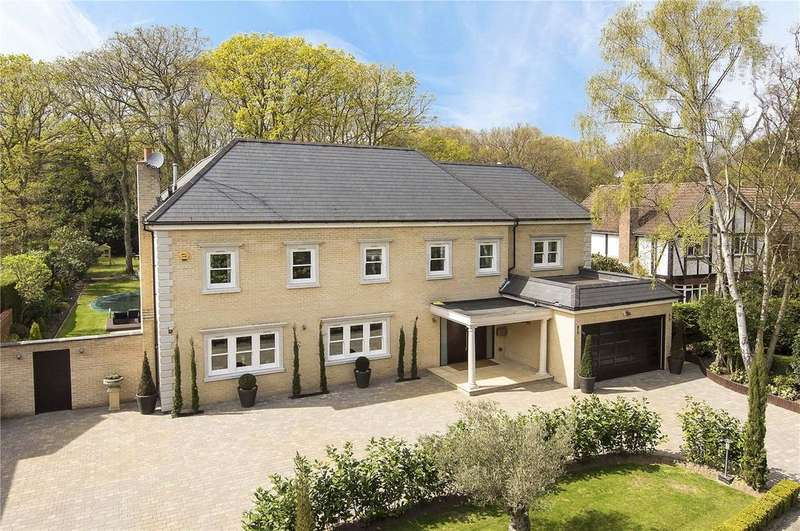 7 Bedrooms Detached House for sale in Ince Road, Burwood Park, KT12