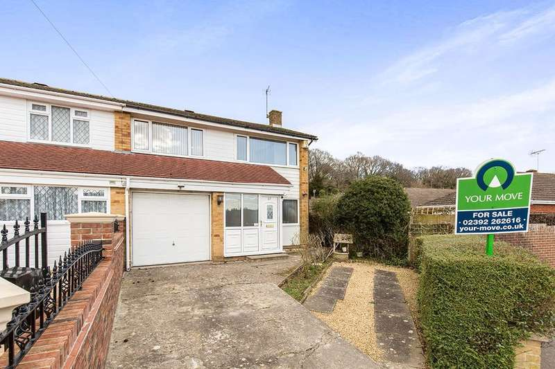 3 Bedrooms Semi Detached House for sale in Oaklands Grove, Waterlooville, PO8