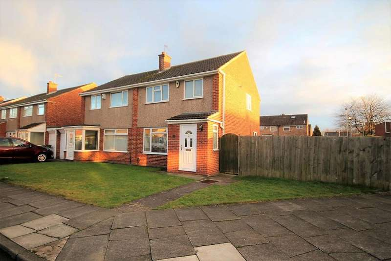 3 Bedrooms Semi Detached House for sale in Elgin Road, Thornaby, Stockton-On-Tees