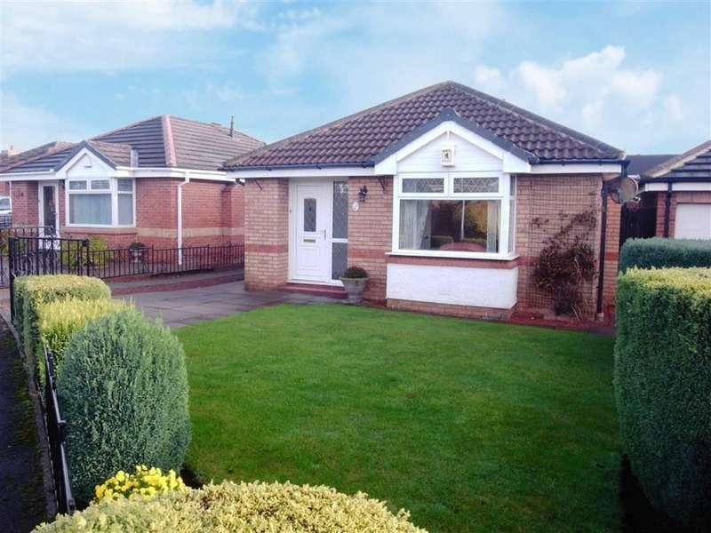 2 Bedrooms Detached Bungalow for sale in Quantock Close, Darlington