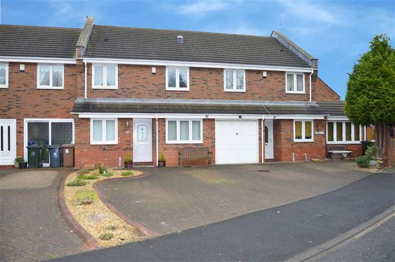 3 Bedrooms Terraced House for sale in Commissioners Wharf, North Shields
